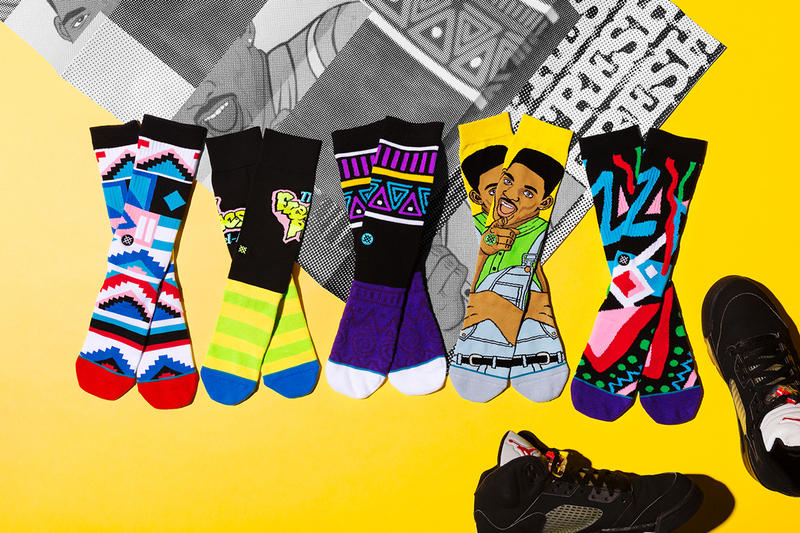 Including The Famous Logo And A Cartoon Of Will Smith Stance Socks Fresh Prince Bel Air