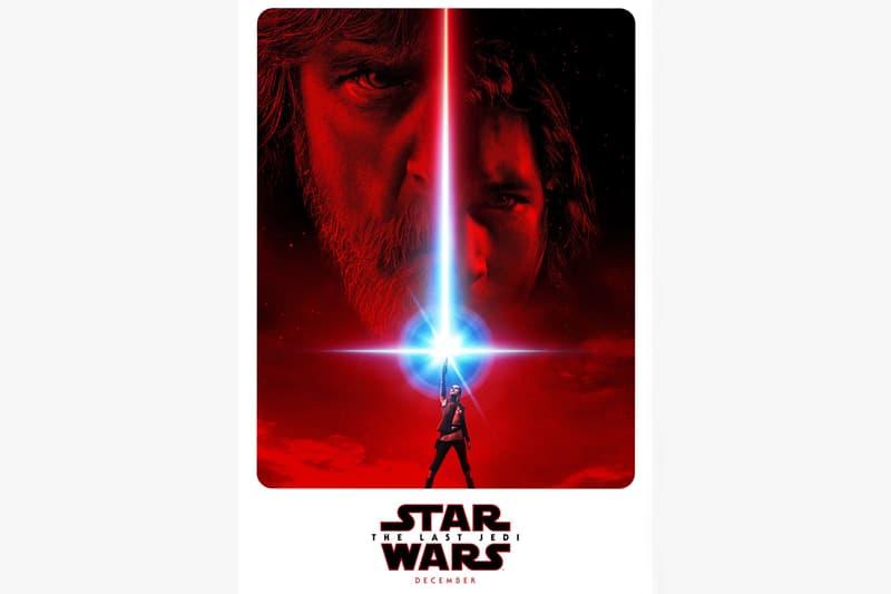 'Star Wars: The Last Jedi' First Film Poster Darth Vader Luke Skywalker Rey Kylo Ren