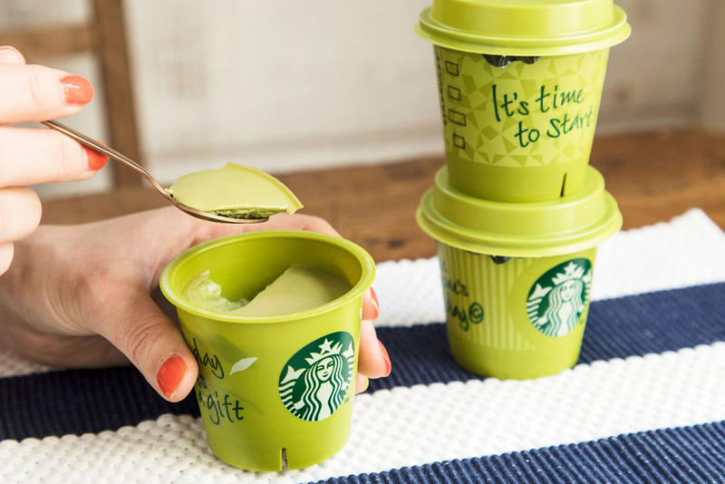 Starbucks Matcha Pudding