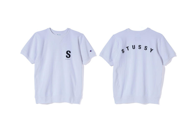 Stüssy Champion 2017 Spring Summer Collection Apparel Soft Goods Clothing Collaboration