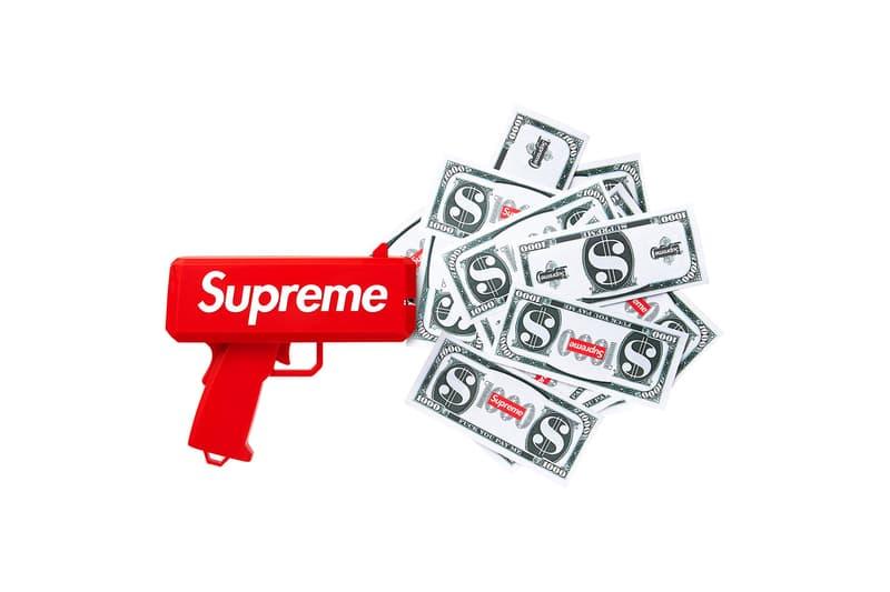 Supreme Cash Cannon Money Gun