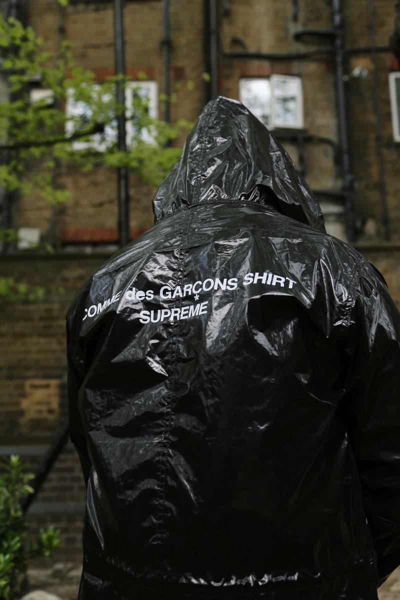 Supreme x COMME des GARÇONS Jacket Black