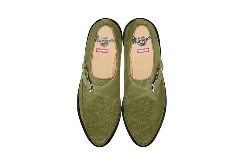 Supreme x Dr. Martens 2017 Spring/Summer Collection Rousden Creeper White Green Pink Black