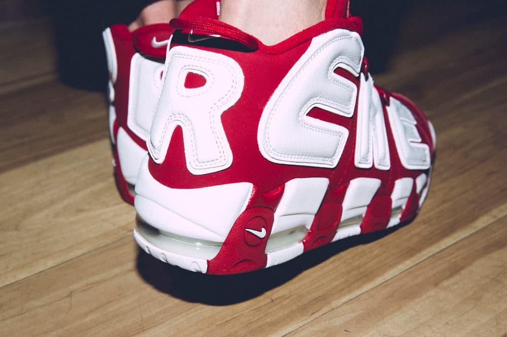 Supreme Nike Air More Uptempo Closer Look