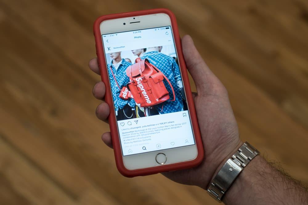 Louis Vuitton Instagram Supreme iPhone Social Media