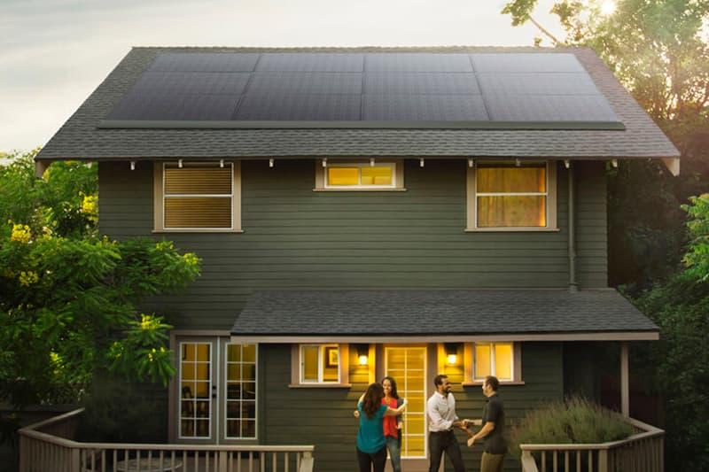 Tesla Panasonic Solar Panel Tiles