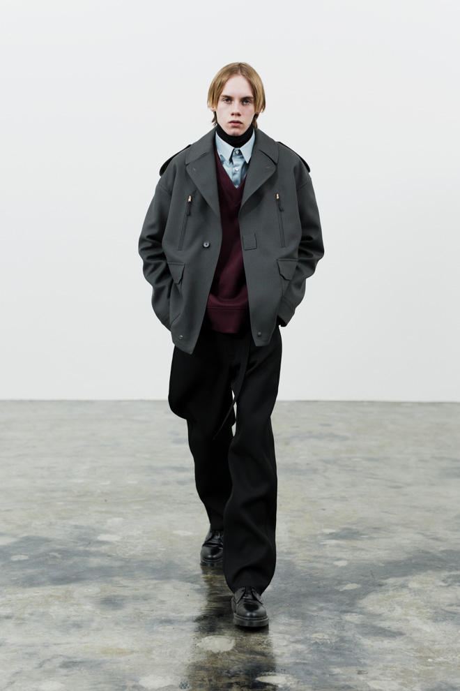 The RERACS 2017 Fall/Winter Collection Lookbooks Layered Jackets Utilitarian Pieces