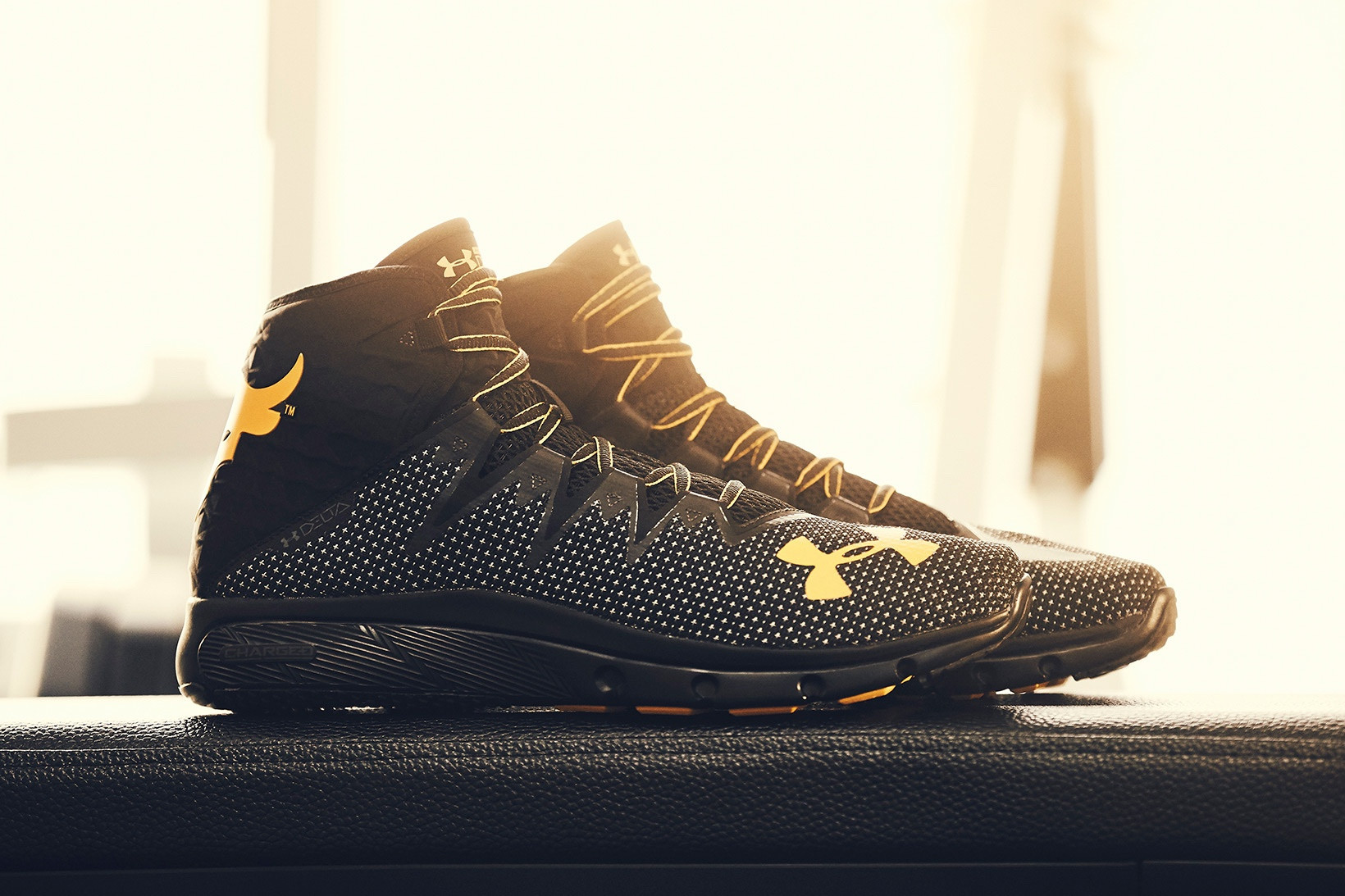The Rock's Under Armour Sneakers Are
