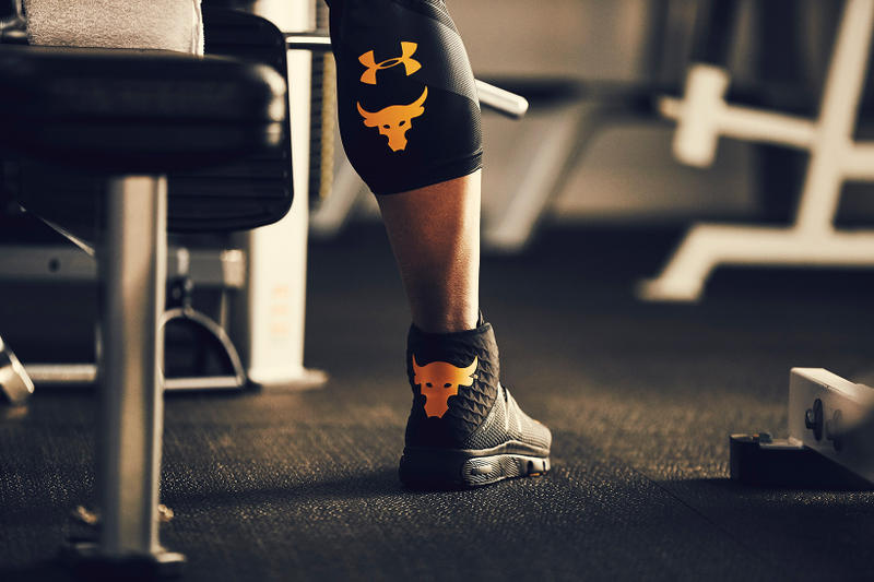 Under Armour The Rock Project Rock Delta Dwayne Johnson
