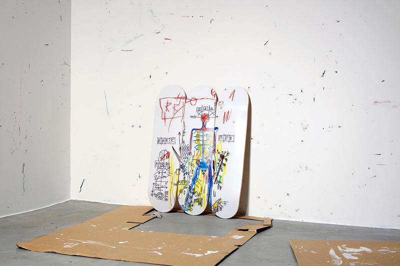 The skateroom jean michel basquiat second collection skateboards