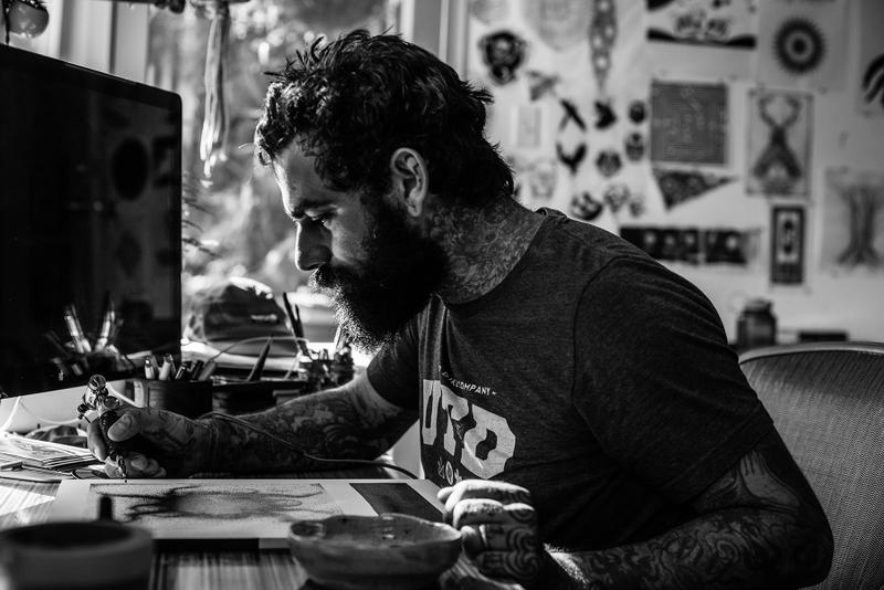 9b968b10e1fa0 The Austin-based mark-maker talks to HYPEBEAST Magazine about what makes  tattoos different from any other art form. Thomas Hooper Tattoo ...