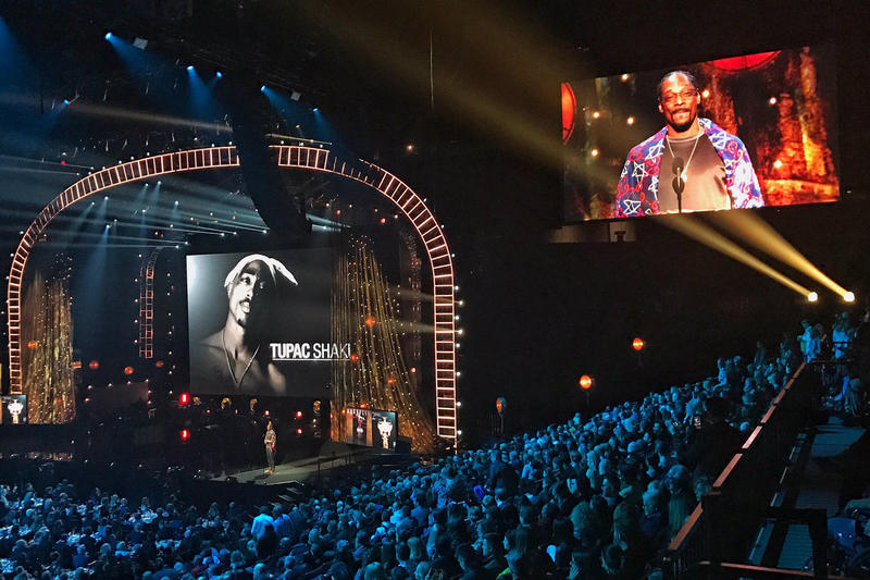Tupac Barclays Center Snoop Dogg Rock and roll hall of fame