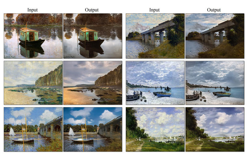 Monet Painting Photography Adobe Photoshop