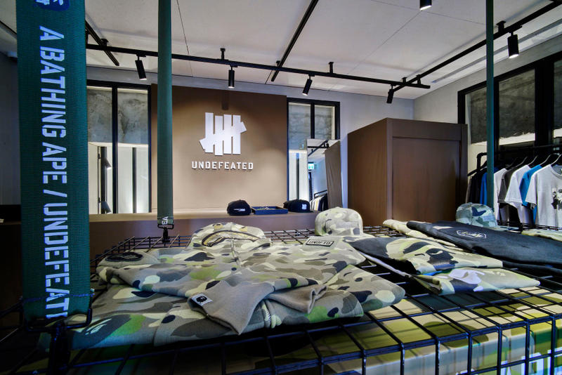 UNDEFEATED x BAPE Hong Kong Pop-Up Store 2017 Spring/Summer A Bathing Ape James Bond