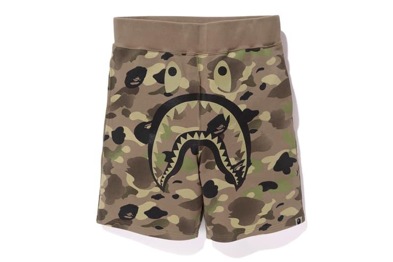 UNDEFEATED BAPE 2017 Spring/Summer Collection A Bathing Ape T-Shirt Shark Hoodies Camo Print