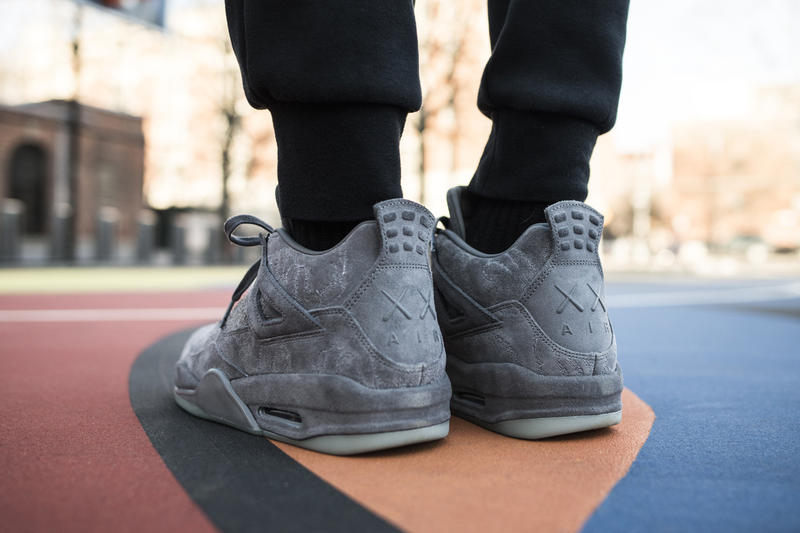 Union LA Golden Tickets KAWS x Air Jordan 4s