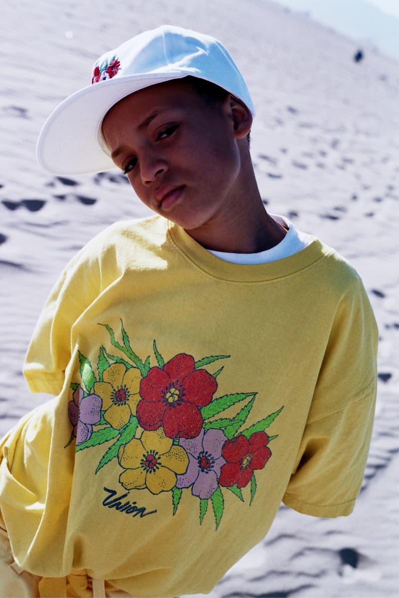 Union LA Lookbook Yellow Botanicals II Shirt