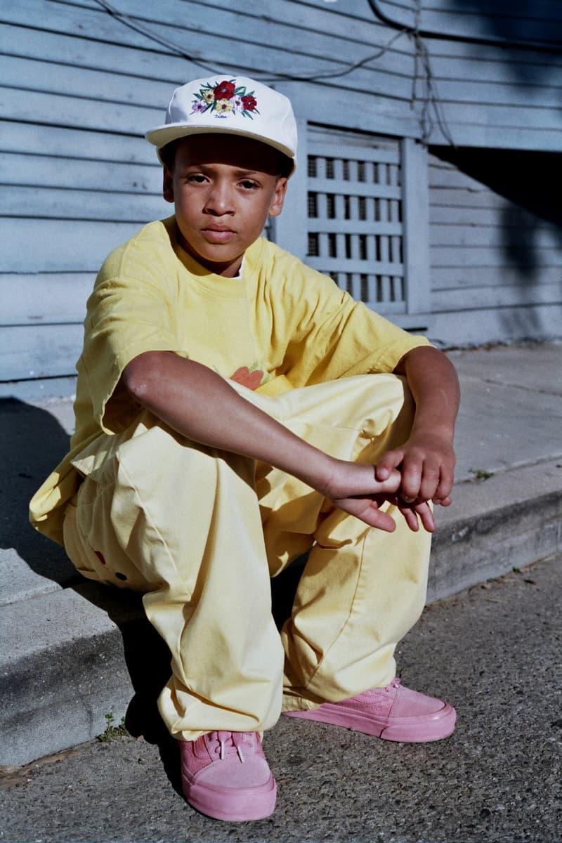 Union LA Lookbook Botanicals II Yellow Shirt and Pants