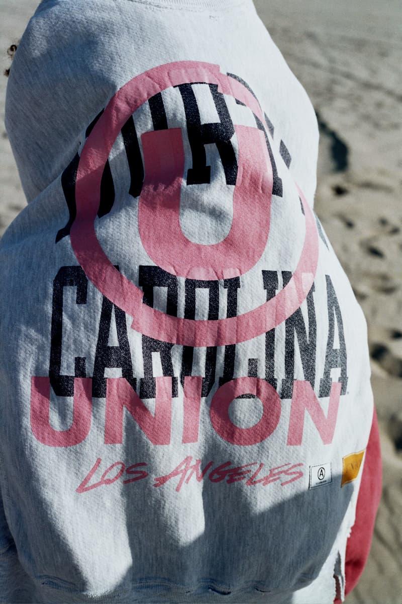 Union LA Lookbook Champion Collegiate Grey/Pink Shirt