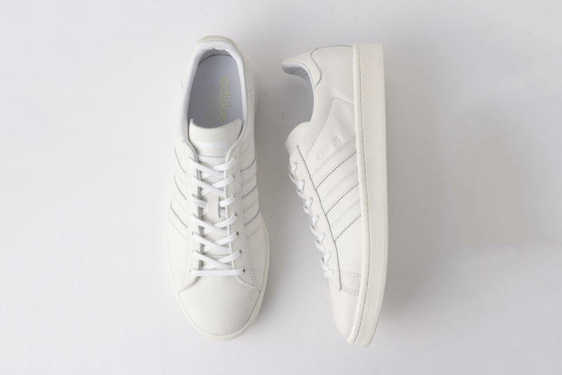 check out 7db6d ba68a UNITED ARROWS SONS adidas Originals Campus 80s Triple White