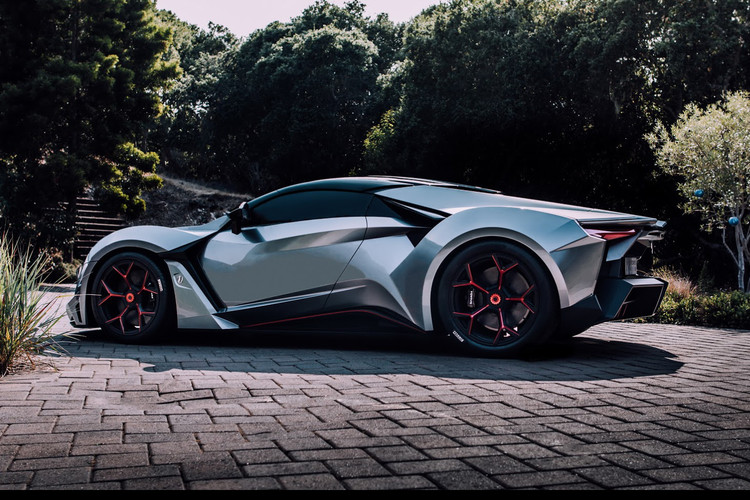 W Motors Fenyr SuperSport Concept Will Show at Shanghai Auto Show