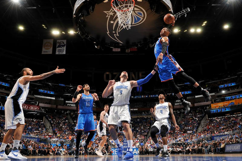 Sports Moments Videos Basketball NBA Football Soccer NCAA March Madness Russell Westbrook Oklahoma City Thunder LeBron James