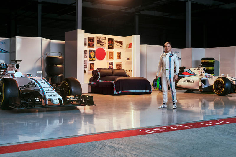 Williams Martini Racing Garage Airbnb Contest British Grand Prix Silverstone