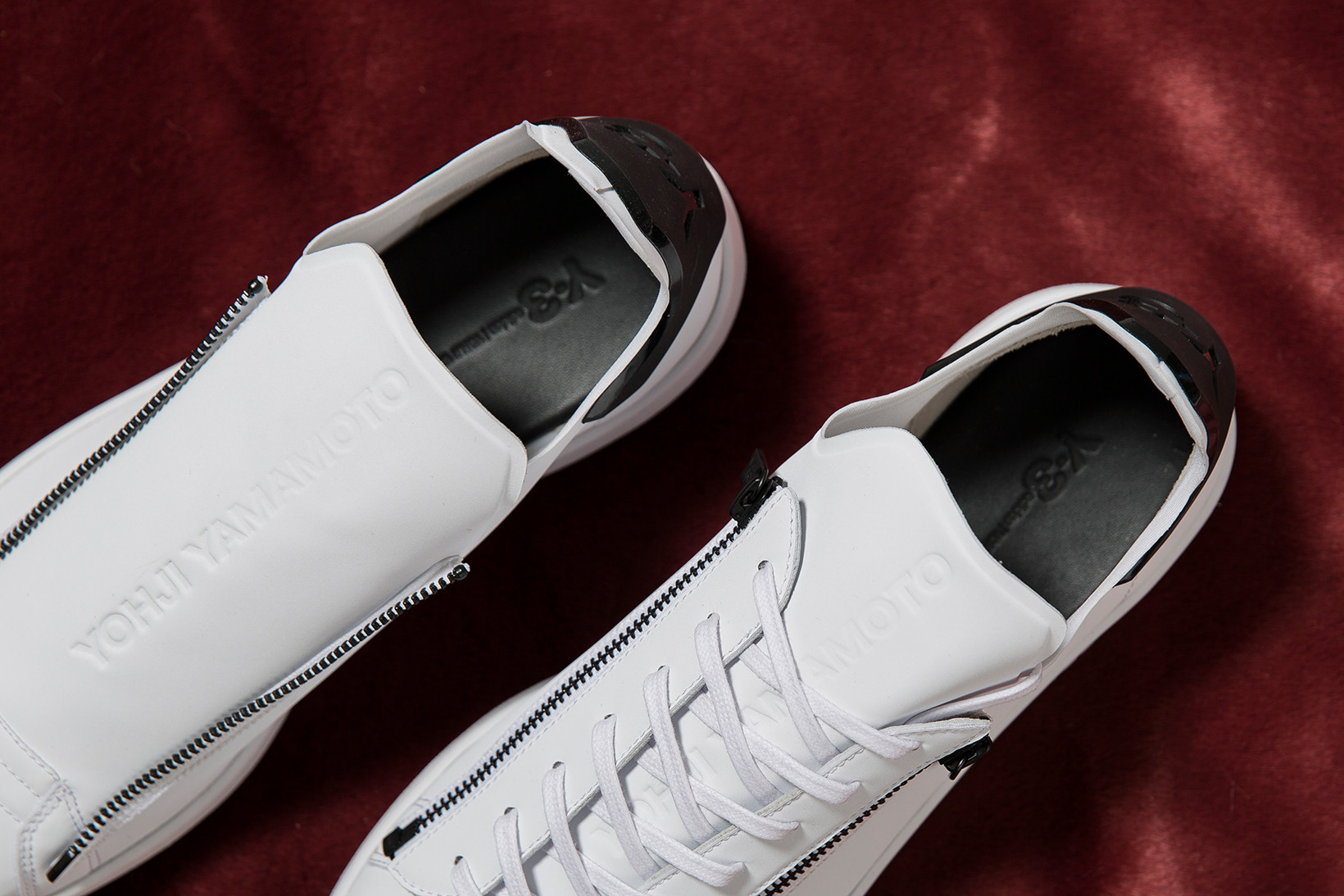 adidas Y-3 Stan Smith Zip Sneaker in