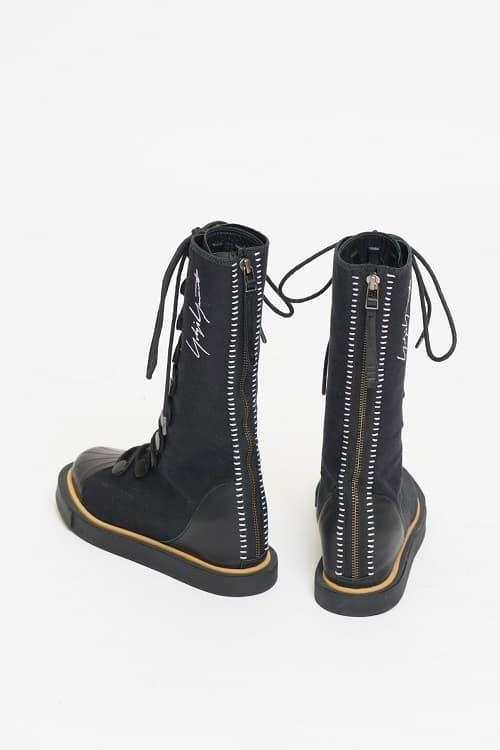 85e4e223b5120 Yohji Yamamoto x adidas 80s Punk Long Boots