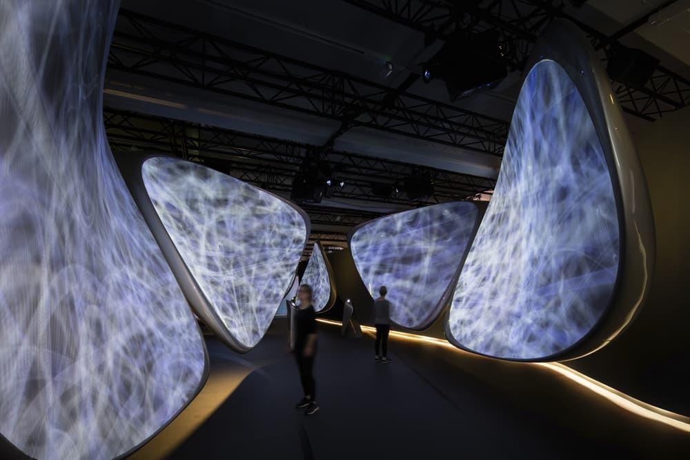 Zaha Hadid Architects Samsung Immersive Digital Art Installation Milan Design Week