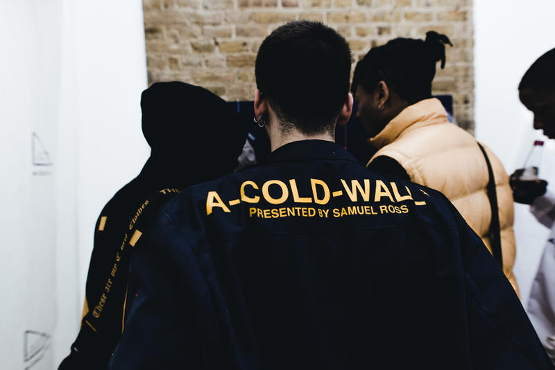 A-Cold-Wall Academia Correction Workshop Pop-Up Inside Looks