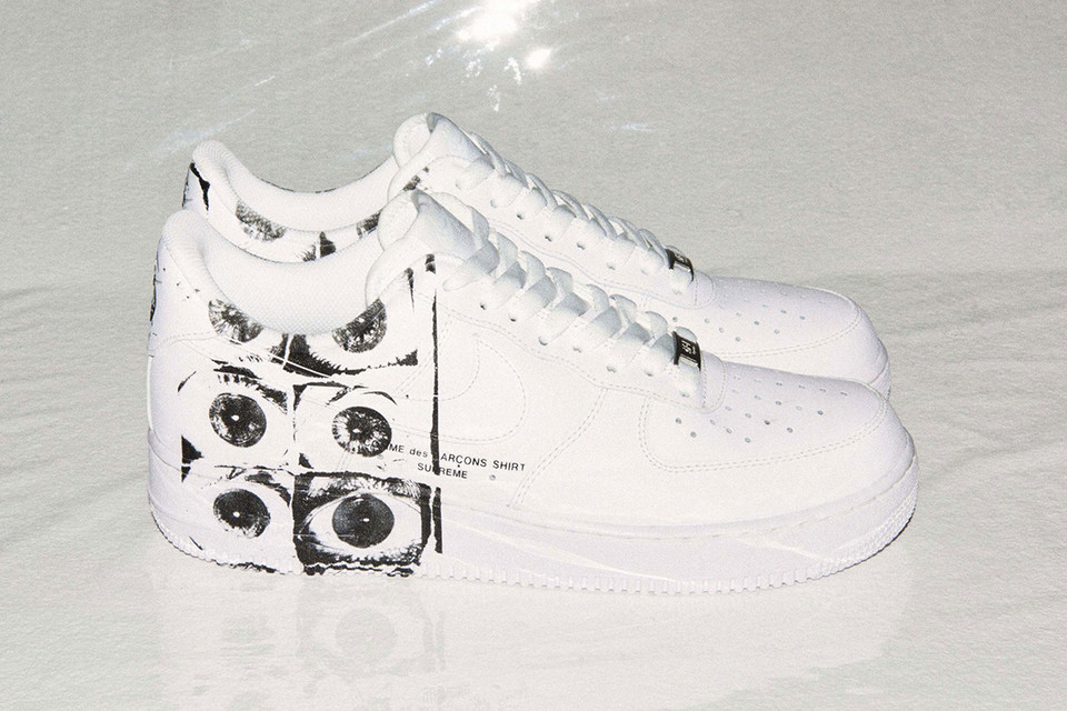 low priced 58f56 ea555 Dover Street Market has Launched a New Site for Special Releases. Beginning  with the Supreme x COMME des GARÇONS Shirt x Nike Air Force 1 ...