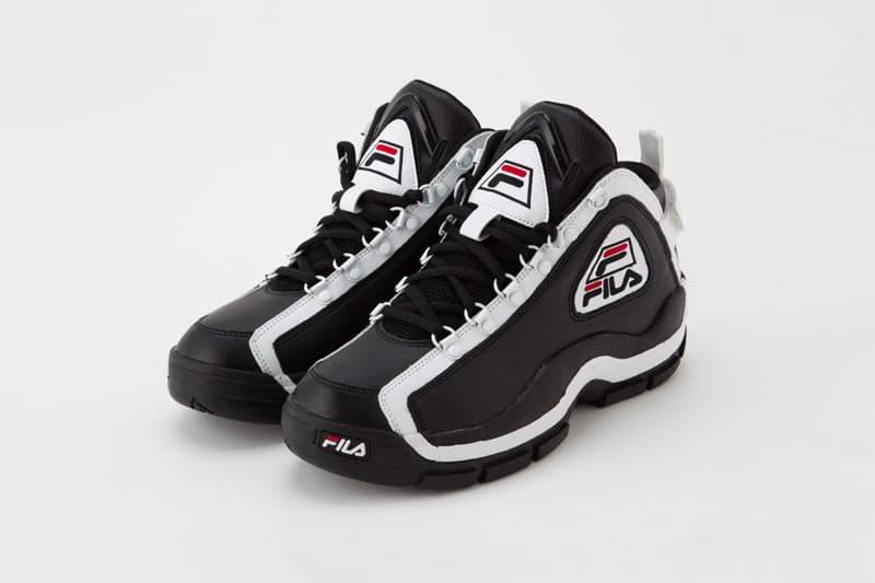 FILA 96GL Sneaker Black White Basketball