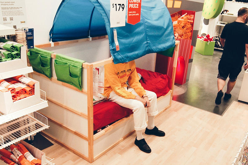 FC Dorsum Mothman Flies to IKEA Lookbook