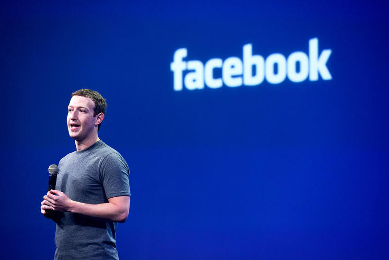 Facebook Launch Shows Mark Zuckerberg Streaming