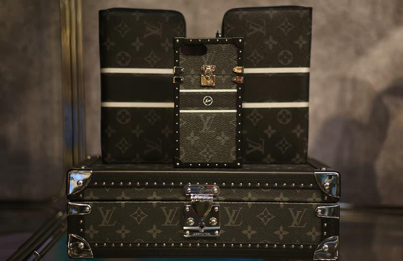 Louis Vuitton fragment design Harrods London Pop-Up