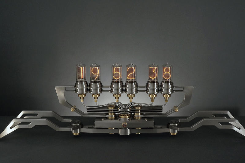 Nixie Machine II 2 M.A.D Gallery Max Büsser MB&F Alberto Schileo tubes Geneva Taipei Dubai
