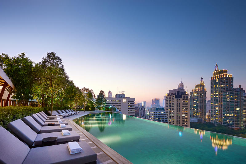 Park Hyatt Bangkok Hotel First Class Five Star
