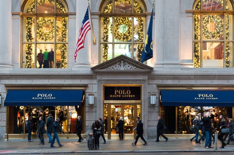 Ralph Lauren Loss Fourth Quarter Storefront
