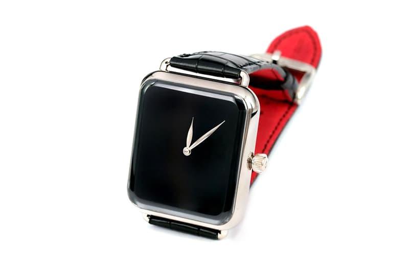 H. Moser & Cie. $27,000 USD Smarwatch Look Alike Swiss Alp Watch Zzzz