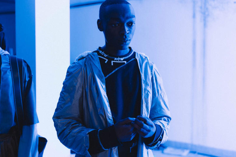A-COLD-WALL* Backstage 2017 Fall/Winter Presentation