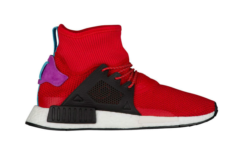 adidas NMD_XR1 Scarlet Core Black Shock Purple Grey Two Grey Two Grey Two
