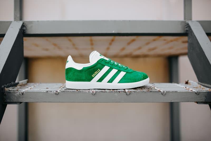 adidas Originals Gazelle Green Suede