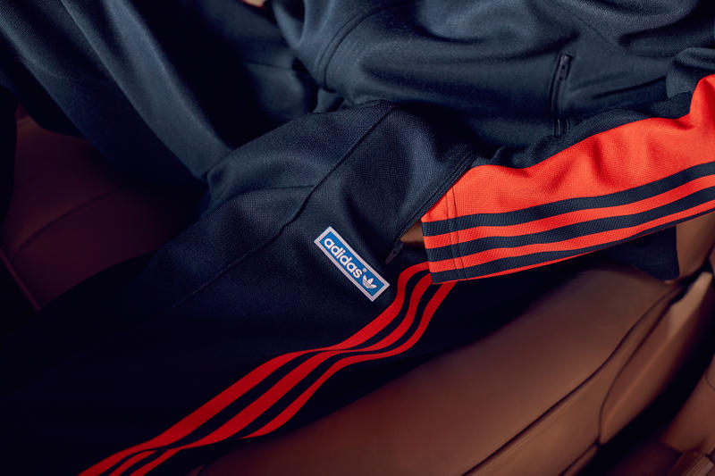 adidas Originals OG JPN Tracksuit Navy Blue Legend Ink Bold Orange