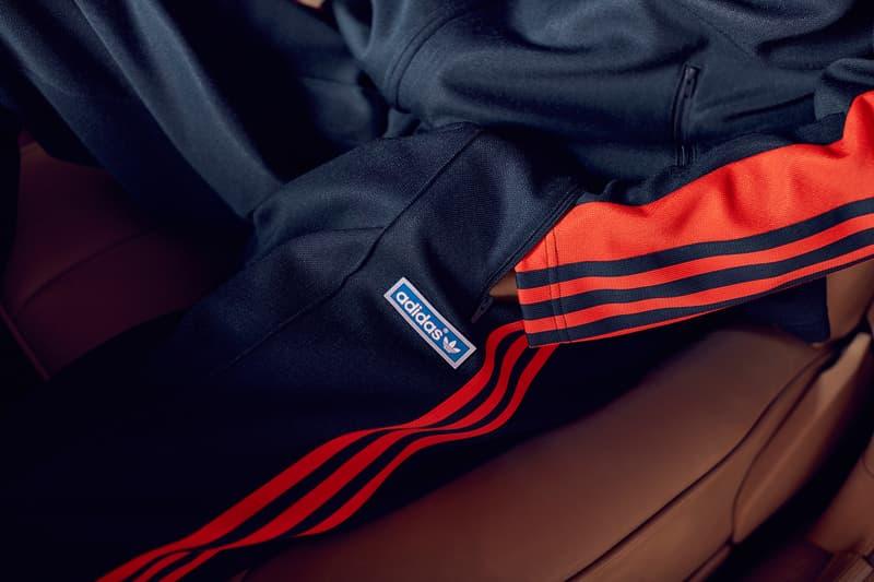 adidas Originals OG JPN Tracksuit Navy Blue Legend Ink Bold Orange