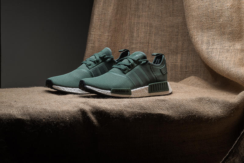 "2ec605daeaae6 adidas Unveils the NMD R1 in ""Trace Green"""