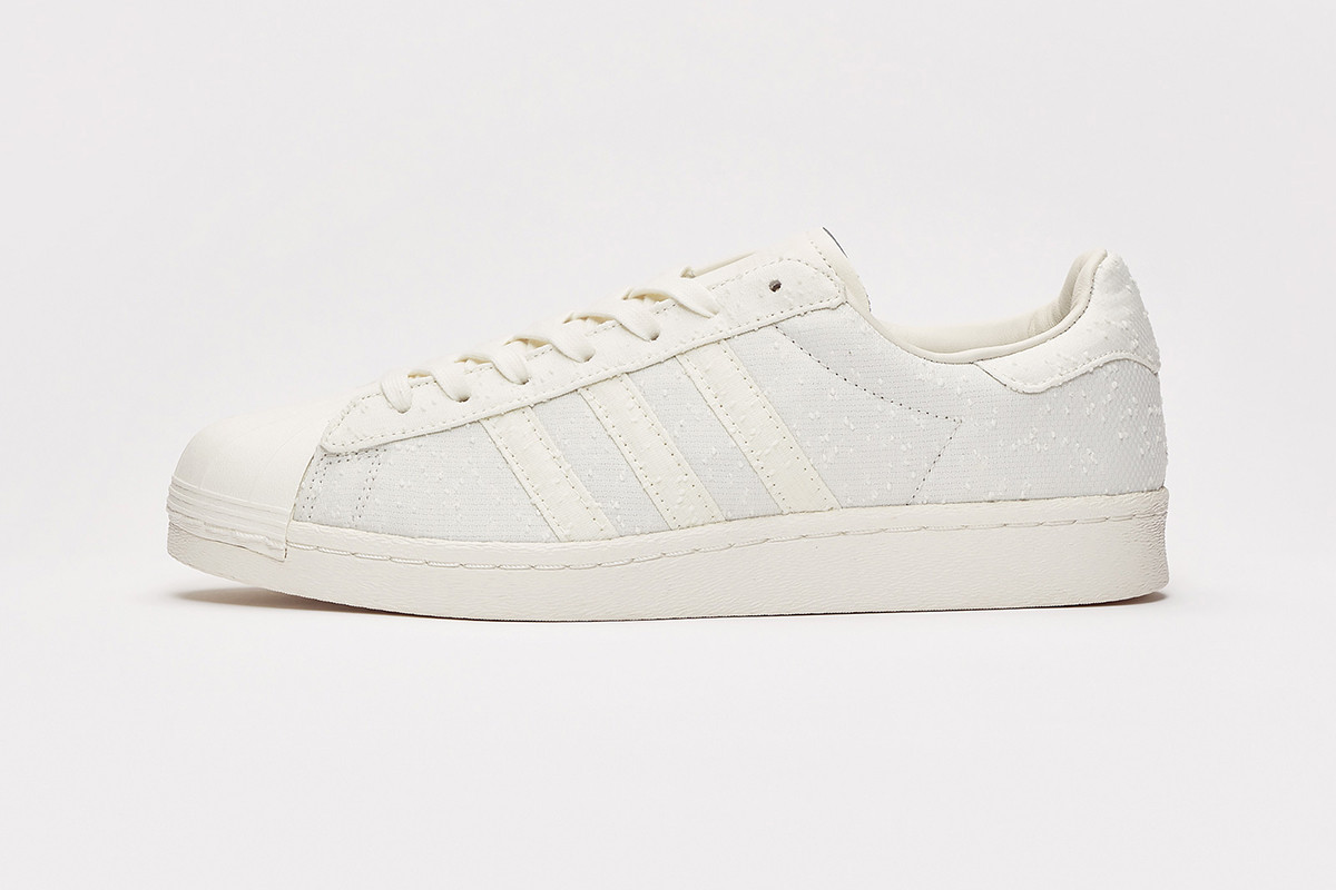release date: 11b24 638c9 Sneakersnstuff x adidas Shades of White V2 Pack