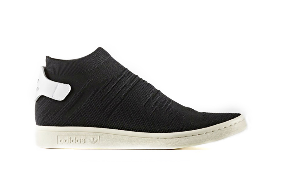 adidas Stan Smith Primeknit Sock Black