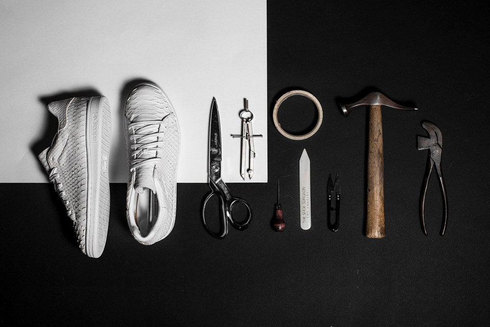 adidas & The Shoe Surgeon Join Forces to Host a Sneaker Customization Class