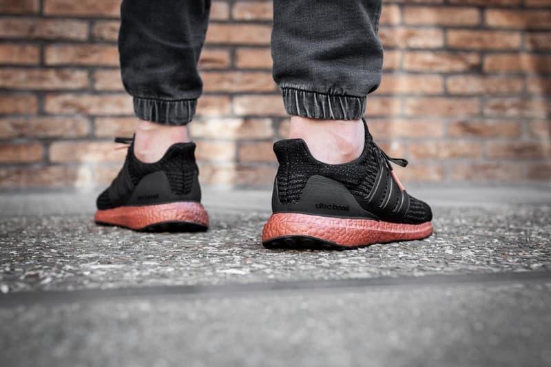 adidas UltraBOOST 3.0 Bronze On Feet Black